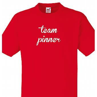 Team Pinner Red T shirt