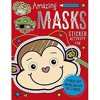 Amazing Masks (Sticker Activity Books)