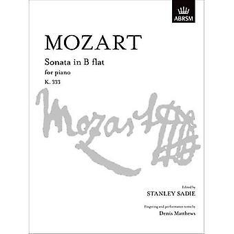 Mozart Sonate i B flad K. 333 (signatur S.)