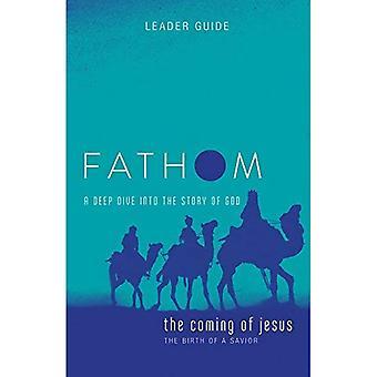 Études bibliques de Fathom: La venue de Jésus Leader Guide: une plongée profonde dans l'histoire de Dieu (études bibliques de Fathom)