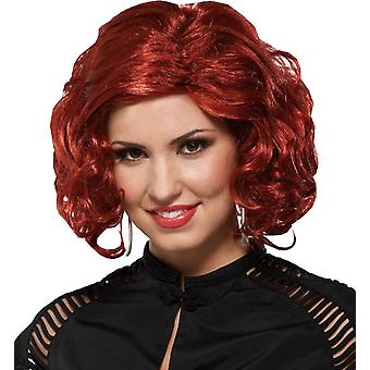 Jet Setter Auburn Wig For Women