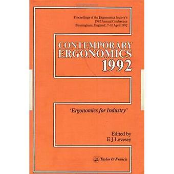 Moderne Ergonomie Ergonomie für die Industrie von Ergonomics Society