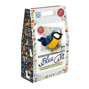 Tit blu Needle Felting Kit