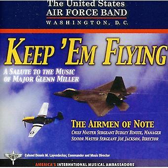 US Air Force Piloten des Hinweis - halten sie fliegen [CD] USA import