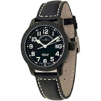 Zeno-watch reloj NC Clou de Paris automático negro 11554-bk-a1