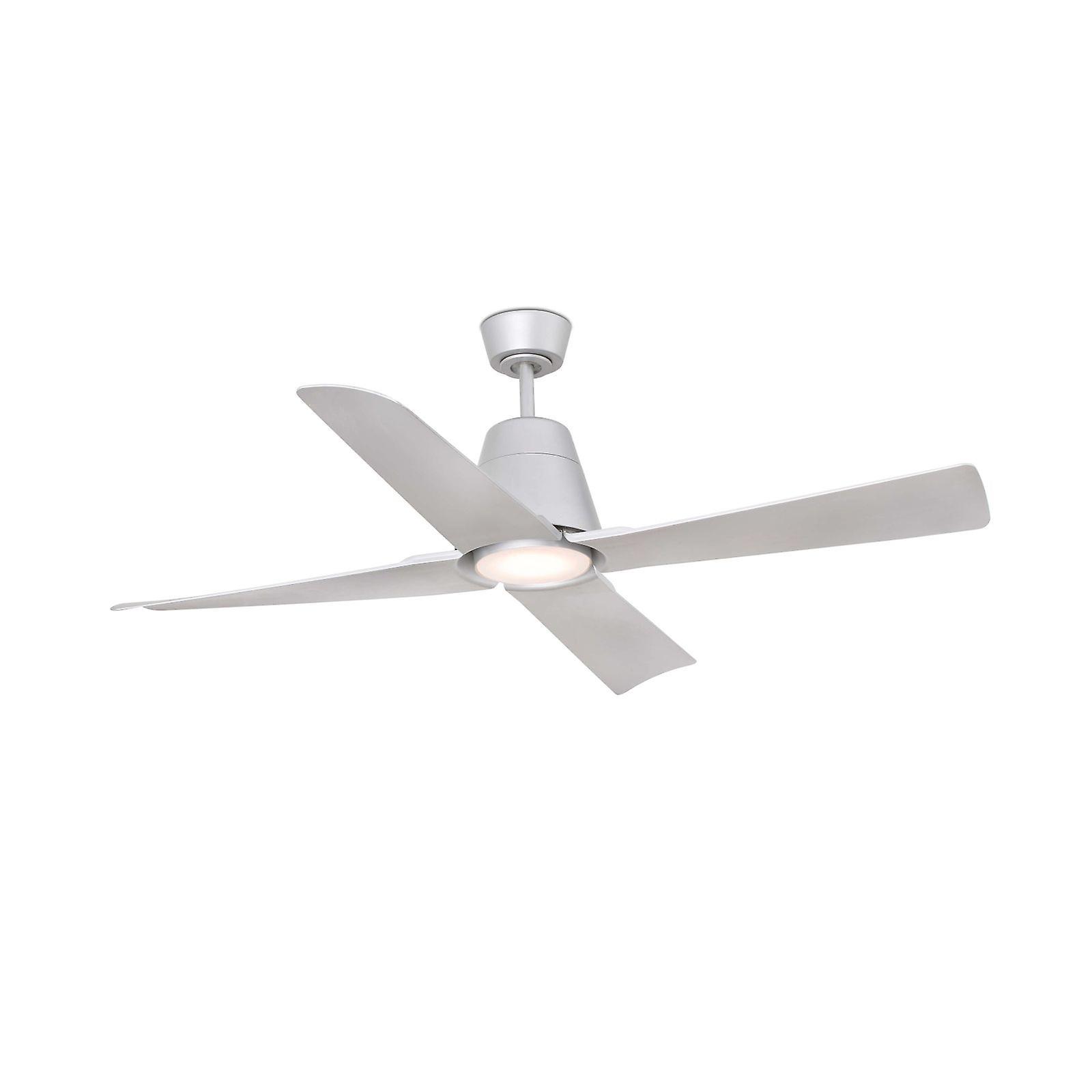 LED Outdoor Ceiling Fan Faro TYPHOON Grey