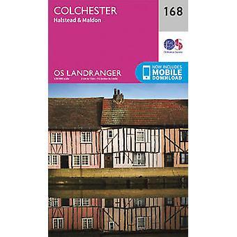 Colchester - Halstead & Maldon by Ordnance Survey - 9780319262665 Book