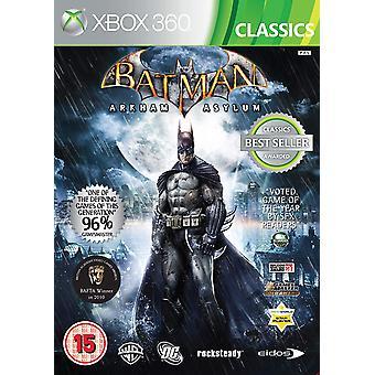 Batman Arkham Asylum Xbox 360 Game (Classics Edition)