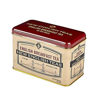 Vintage selection tower bridge english breakfast tea tin 40 teabags
