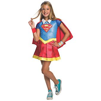 Super Girl Deluxe DC Comic Super Hero superheld film boek week meisjes kostuum