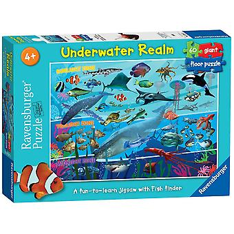 Ravensburger Royaume sous-marin géant sol Puzzle (60 pièces)
