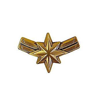 Pin - Marvel - Captain Marvel Logo Pewter Lapel New 69011