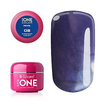 Base one-Pearl-Midnight violet 5 g UV-gel