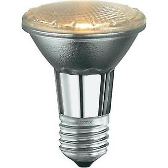 Eco halogen 82 mm Sygonix 230 V E27 18 W Warm white EEC: C Reflector bulb dimmable 1 pc(s)