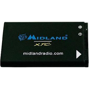 Camera battery Midland replaces original battery XTA-510 3.7 V 1100 mAh