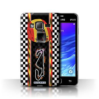 STUFF4 Case/Cover for Samsung Z1/Z130/Spain/Catalunya/F1 Track Flag