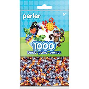Perler Beads 1,000/Pkg-Metallic Mix PBB80-19-15185