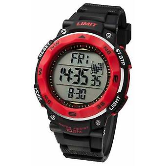 Limit Mens Sport Black Strap 5486 Watch
