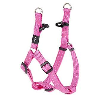 Rogz For Dogs Snake Step-in H Roze 16 Mmx42-61 Cm