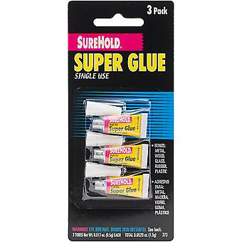Super Glue 3/Pkg-.017oz SH-373