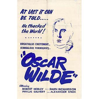 Oscar Wilde Movie Poster Print (27 x 40)