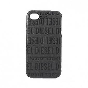 Diesel glidebryteren tilfelle for iPhone 4 / 4 S i svart