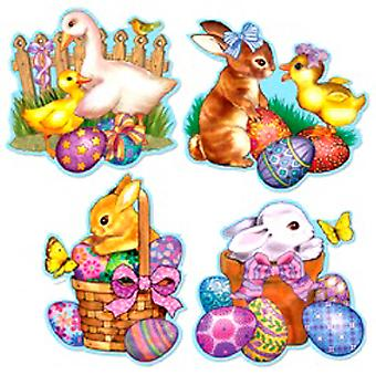 Easter Cutouts 4 In A Pack