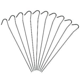 Piquets de tente en acier de AMOS (24cm) (10 Pack)