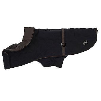 Buster City Dog Coat Black Large