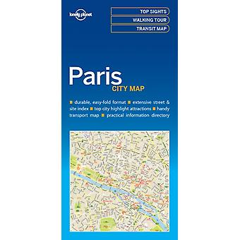 Paris City Map by Lonely Planet