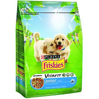 Friskies Junior Chicken (Dogs , Dog Food , Dry Food)