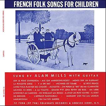 Alan Mills - chants populaires Français pour enfants [CD] USA import