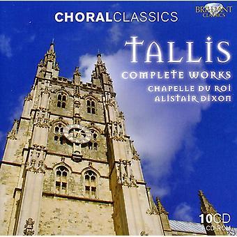 T. tallis - Tallis: Kompletta verk [CD] USA import