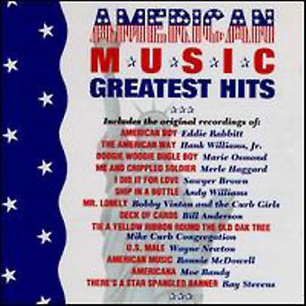 Amerikaans muziek-Greatest Hit - Amerikaanse muziek-Greatest Hits [CD] USA import