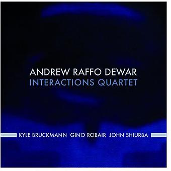 Andrew Dewar - interaktioner kvartetten [CD] USA import