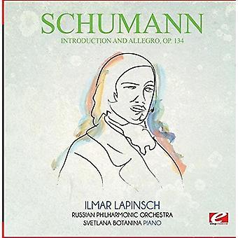 Schumann - Introduktion & Allegro Op. 134 [CD] USA importerer
