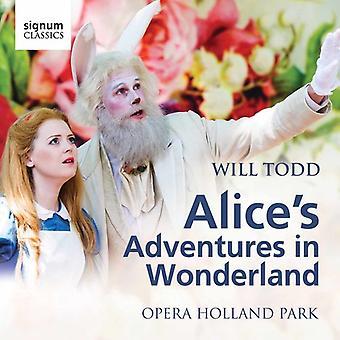 Todd / Opera Holland Park / Waldren - Alice i Eventyrland [CD] USA import