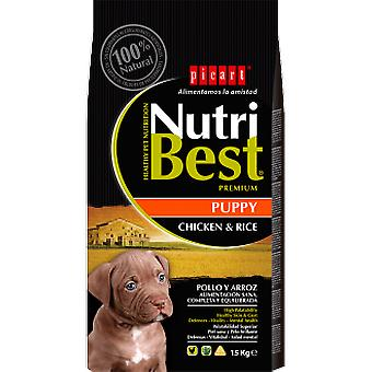 Picart Nutribest Puppy chicken and rice (Dogs , Dog Food , Dry Food)