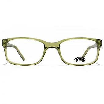 Animal Timson Classic Rectangle Glasses In Green