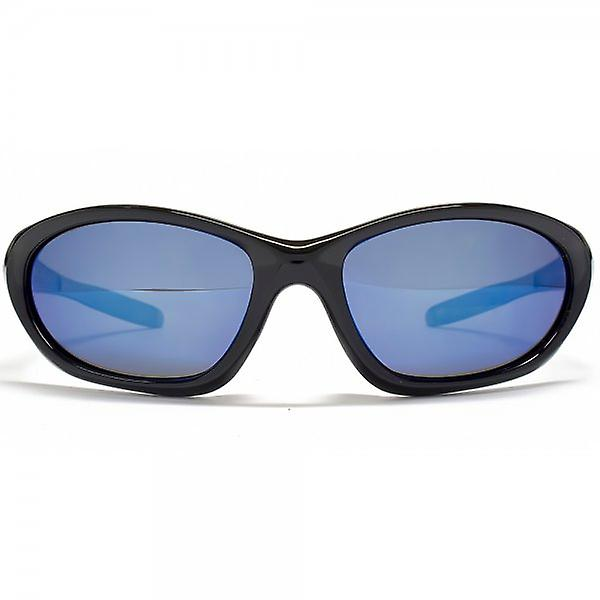 STORM Leous Sports Wrap Sunglasses In Black