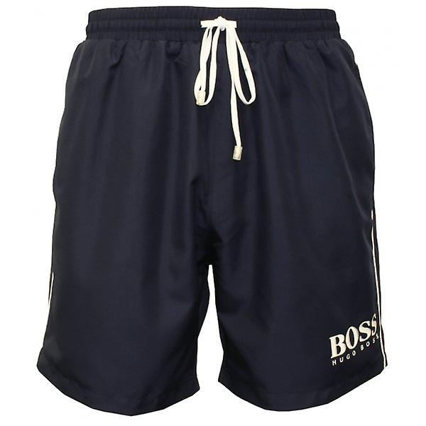 Hugo Boss Starfish Swim Shorts, Navy