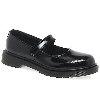 Dr. Martens Maccy Girls Mary Jane Senior School Shoes