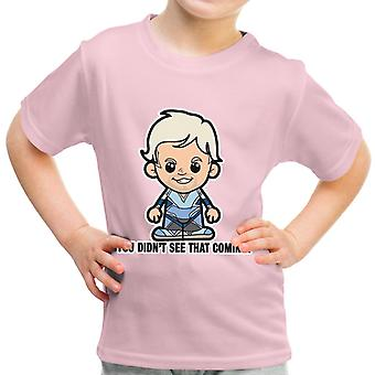 Lil Quicksilver You Didnt See That Coming Kid's T-Shirt