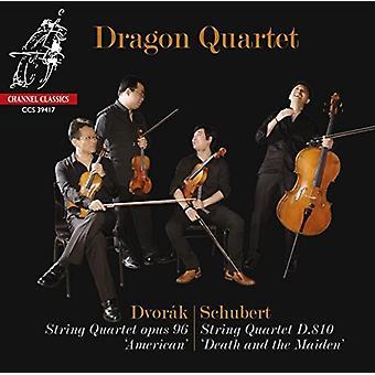 Dragon kvartetten - Schubert & Dvorak: Strygekvartetter [CD] USA import