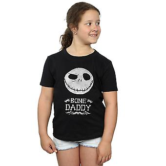 Disney Mädchen Nightmare Before Christmas Bone Daddy T-Shirt