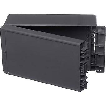 Wall-mount enclosure, Build-in casing 125 x 231 x 90 Acrylonitrile butadiene styrene