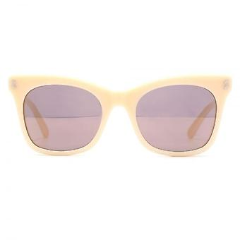 Stella McCartney Essentials a culminé Cateye lunettes de soleil rose nue