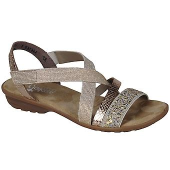 Rieker Copper Womens Casual Sandals