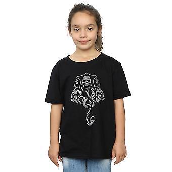 Harry Potter dziewczyn T-Shirt ciemny znak Crest