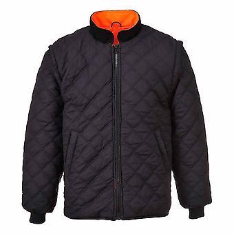 sUw - Hi-Vis Sicherheit Arbeitskleidung 7-in-1-Kontrast-Verkehr-Jacke
